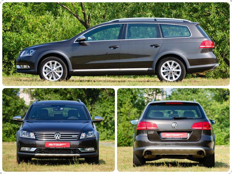 Volkswagen Passat Alltrack - стоимость 55c42d65bf3